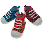 Baby Goth/Punk/Emo Trainer Boots/Shoes Funky Print & Star Detail Boy/Girl/ 0-12M