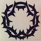 Crown of Thorns vinyl decal MULTI COLOR Camo Jesus Easter Catholic Lent