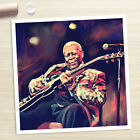 BB KING Blues guitar poster painting CANVAS GICLEE PRINT (Rolled)