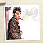 COSMO KRAMER Seinfeld show poster painting CANVAS ART PRINT (Rolled)