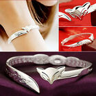 Wholesale Fashion Gift Lady Jewelry 925Sterling Silver Charm Bracelets Bangle