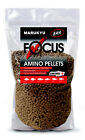 2 BAGS OF MARUKYU FOCUS AMINO PELLETS FISHING BAIT IDEAL FOR METHOD FEEDERS