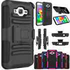 Rugged Holster With Kickstand&Belt Clip Case For Samsung Galaxy Grand Prime G530