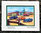 FORD MUSTANG ART PRINT Shelby Fastback GT Car 289 Hot Street Rod Auto 5.0 V8 65