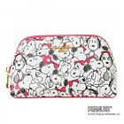 PEANUTS SNOOPY x Samantha Thavasa Cosmetic Pouch  Purse Pink from Japan T4021