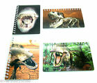 3D Dinosaur Design Small Notebook - 60 Plain Pages Choice of 4 - Party Bag Item