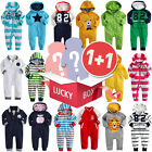 """Lucky Box"" 2pcs of Vaenait Baby Girls Boys Clothes Jumpsuit Bodysuit Outfits"