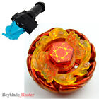 Beyblade Metal Fusion Masters+Auto retract string Launcher+Professional Grip New <br/> The BEST 60 beys, Each have Launcher and Grip-FREE SHIP