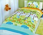 Kidz Jungle Boogie Animals Multi Duvet Set Single
