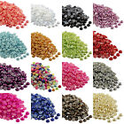 Kyпить 2000pcs Half Pearl Round Bead Flat Back 2mm - 8mm Scrapbook for Craft FlatBack на еВаy.соm