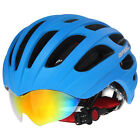 2016 Rock Cycling MTB Road Bike outdoor Helmet With Glasses M/L 56cm-62cm