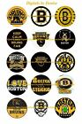 "BOSTON BRUINS 1"" CIRCLES  BOTTLE CAP IMAGES. $2.45-$5.50 *****FREE SHIPPING***** $2.45 USD on eBay"
