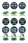 "SEATTLE SEAHAWKS GIRL 1 "" CIRCLES  BOTTLE CAP IMAGES. $2.45-$5.50 FREE SHIPPING $4.45 USD on eBay"