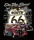 Historical Route 66 T-Shirt Highway Mother Road Black Color Mens S M L XL Size