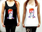Remembering David Bowie Shirt Summer Womens Tank Top Sleeveless T Shirt Tshirt