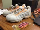 Vintage Womens ORIGINAL Nike Air Max 95 1995 Sneakers New Grey Citrus 698017-081