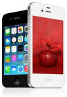 Apple iPhone 4S Smartphone (GSM Unlocked), 16GB 32GB, Black White
