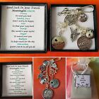 Good Luck On Your TRAVELS Meaningful Keepsake keyring Charm Gift Boxed Rhymes