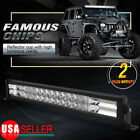 "Curved 300W 52"" Combo LED Work Light Bar Driving DRL SUV 4WD Boat Truck Offroad"