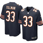 NEW NIKE Men Chicago Bears Charles Tillman #33 Football NFL Jersey Navy $100