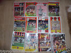 Sheffield United Home Programmes 1980/81 to 1991/92 .  Select from list