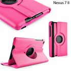 Asus Google Nexus 7 II 2nd Generation Leather Stand Rotate 360° Case Cover