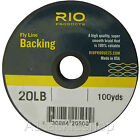 Rio Fly Line Backing Line 20lb or 30lb 100 yd for Trout and Salmon Lines