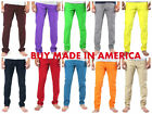 Colored low rise pencil skinny jeans for Men  MADE IN THE USA Solo Jeans colored