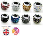 Genuine SWAROVSKI 80901 BeCharmed Pave Spikes Crystal Beads 11.5mm