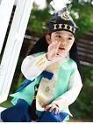 Baby Korea hanbok boys traditional costume first birthday outfit bokgun Dohl