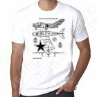 Mikoyan-Gurevich MiG-15 Russioan Soviet Jet Fighter Mens 100% cotton tshirt