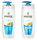 PANTENE Shampoo & Conditioner 500ml Damage, Silky Smooth, Volume Hair Care Set