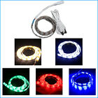 50cm LED Lights Strip + USB cable powered by Notebook TV Laptop PC Computer 5V