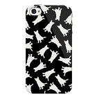 Animal Pattern Protective Hard Shell Snap on iPhone 4 Case / Cover