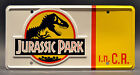 Jurassic Park / 2 Digit Customizable Jeep CJ7 YJ / *STAMPED* Prop License Plate