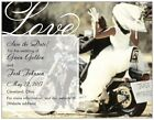 40 Personalized Custom Motorcycle Save the DATE Flat CARDS & Envelopes