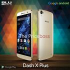"Blu Dash X Plus 5.5"" HD D950U 4G Android Dual Sim Unlocked GSM Cell Phone New"