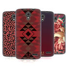 HEAD CASE DESIGNS MARSALA TRENDS SOFT GEL CASE FOR ALCATEL PHONES 2
