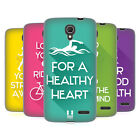 HEAD CASE DESIGNS WORKOUT INSPIRATIONS SOFT GEL CASE FOR ALCATEL PHONES 2