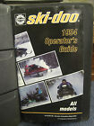 Ski-Doo Operator's Guide booklets - NEW!! Great reference books!