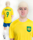 Ronaldo World Cup Brazil 1990s Football Fancy Dress Costume ideal for Stag Party