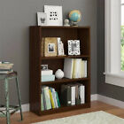 Wooden Bookcase with 2 Adjustable Shelves Book Storage Home Office NEW