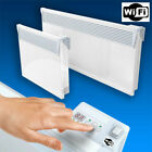 Tesy Electric Convector Panel Heater Radiator - Wi-Fi Enabled Wall Mounted
