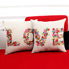 Love Couple Wedding Decoration Throw Pillow Cover Cushion Cover Pillowcase