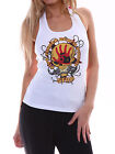 Five Finger Death Punch FFDP Women White Graphic Tank Top Singlet Size XS-2XL 4
