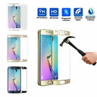 Tempered Glass Curved Full Cover Screen For Samsung Galaxy S7 Edge/S6 Edge Plus