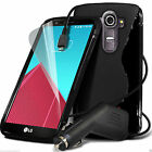 S-Line Slim TPU Wave Gel Rubber Phone Case✔In Car Charger for Motorola
