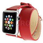 Genuine Leather/Milanese/Butterfly Lock/Nylon Buckle Band Strap for Apple Watch