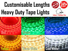 3528 LED Heavy Duty Strip Tape Rope Light Single Colours 240V Mains Waterproof