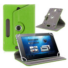 """Slim Tablet Tab Case Cover Pouch Leather Stand 360°Rotate 9.6"""" 9.7"""" 10"""" 10.1"""""""
